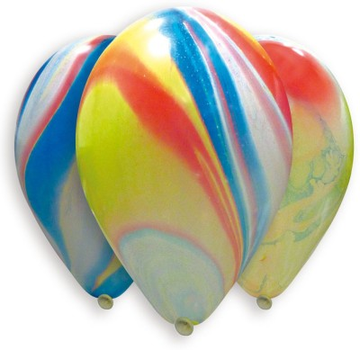 Bubbly Printed Marble Balloon