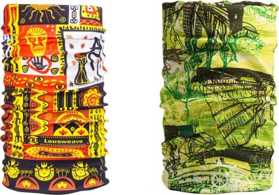 Noise Combo Of Noise 13 in 1 Ancient Sail And African Tribal Headwrap Men's Printed Bandana