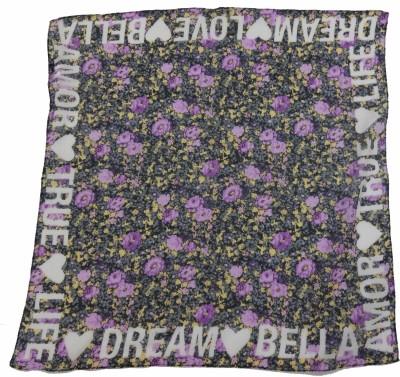 Polipilla Women's Floral Print Bandana