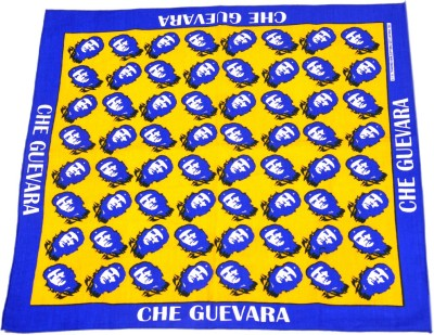 Fancy Steps Yellow Che Guevara Men,s Graphic Print Bandana