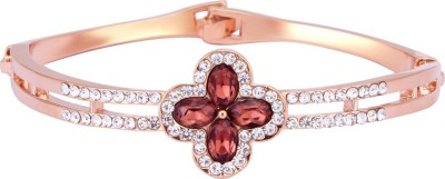 TVESHA Alloy Cubic Zirconia Rose Gold Bracelet