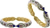 Prisha Collections Alloy Yellow Gold Bangle Set(Pack of 2) best price on Flipkart @ Rs. 1239