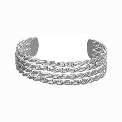 Kenway Retail Brass Silver Cuff
