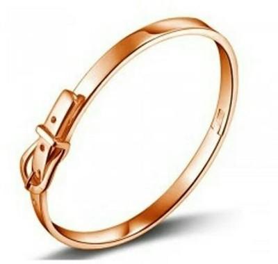 University Trendz Alloy Crystal 18K Rose Gold Bracelet