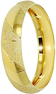 Anjan Brass 22K Yellow Gold Kada