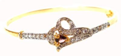 Achal Brass Zircon Yellow Gold Bracelet
