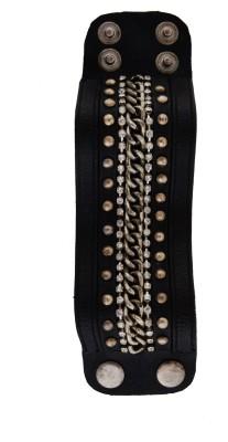 Dillidil Fabric, Leather Bracelet