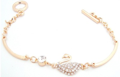 Urthn Alloy Rose Gold Bracelet