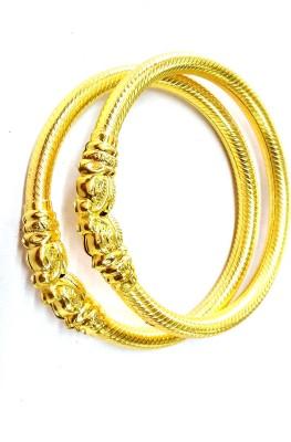 Prakash Jewellers Copper Yellow Gold Bangle Set