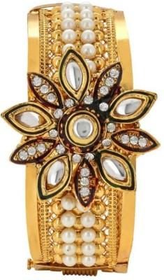 penny jewels Brass Pearl Kada