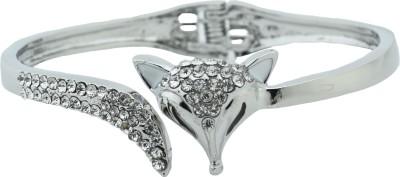 High Trendz Alloy Cubic Zirconia Sterling Silver Bracelet