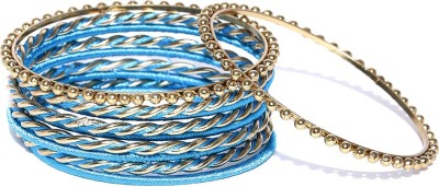 Dressberry Metal Enamel Bangle(Pack of 10) at flipkart