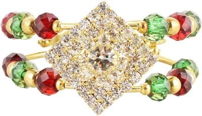 FASHION BAZAAR Brass 21K Yellow Gold Cuff