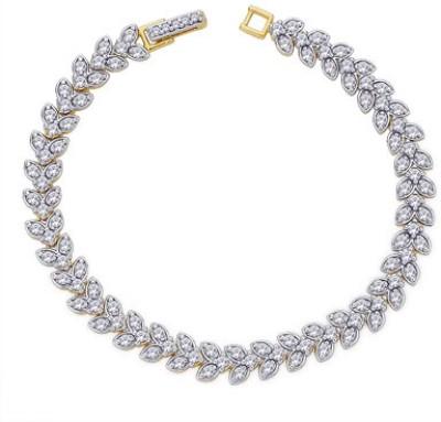 Peora Alloy Yellow Gold Bracelet