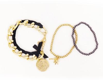 Jewel Touch Alloy Bracelet Set