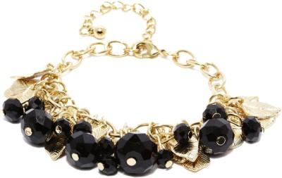 Dressberry Metal Crystal Enamel Bracelet