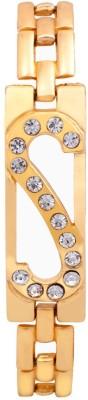 Rich Club Metal Diamond 18K Yellow Gold Bracelet