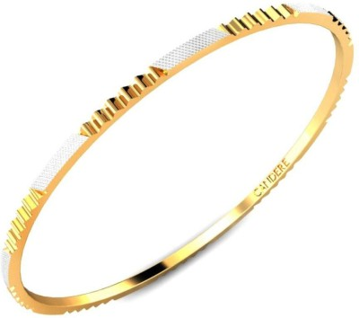 Candere Binita Yellow Gold 22kt Bangle