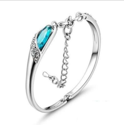 University Trendz Alloy Rhodium Bracelet