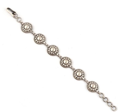 Jewels of Jaipur Silver Bracelet
