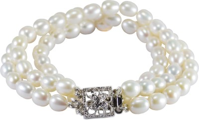 Pearl Paradise Silver Pearl Rhodium Bracelet