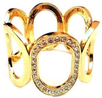 Grace Fashion Villa Alloy 24K Yellow Gold Bracelet