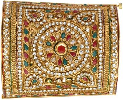 Adiva Copper Yellow Gold Cuff