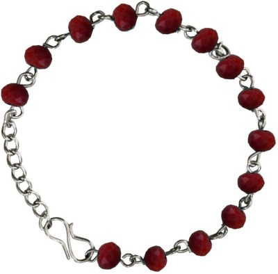 Beingwomen Alloy Rhodium Bracelet