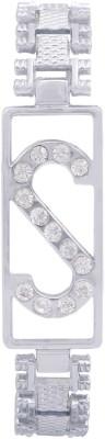 Rich Club Alloy Diamond Silver Bracelet