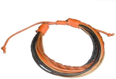 Beadworks Leather Bracelet