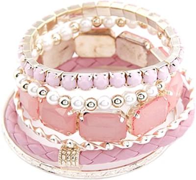 Young & Forever Alloy, Resin Bracelet Set