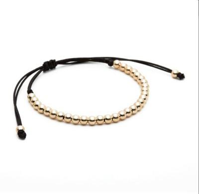 Nezaro Stainless Steel 18K Yellow Gold Bracelet
