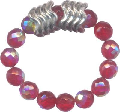 Pearls India Glass, Acrylic Bracelet