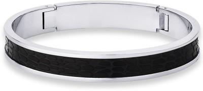Peora Steel Rhodium Bracelet