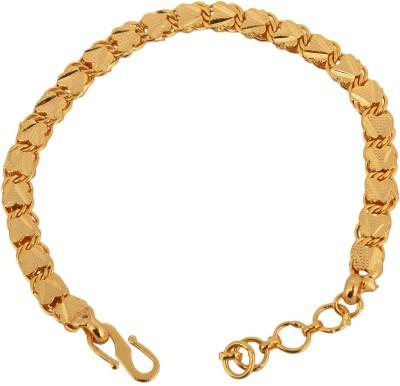 Memoir Brass Yellow Gold Bracelet