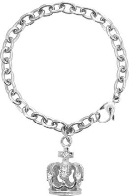 Inox Jewelry Stainless Steel Crystal Bracelet