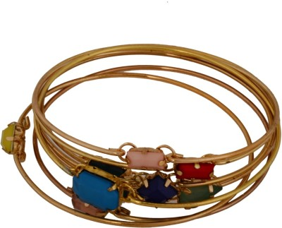 Dillidil Metal Bangle Set(Pack of 8)