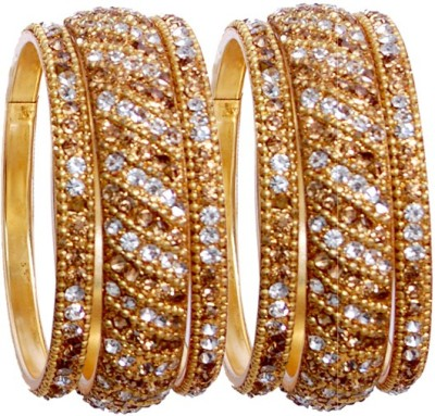 Multiline Company Alloy Bangle Set(Pack of 8) at flipkart