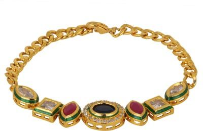 Sanaya Collection Metal Yellow Gold Bracelet