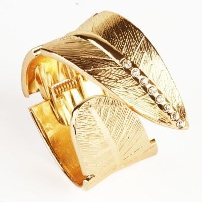 Ghasitaram Gifts Brass Yellow Gold Cuff