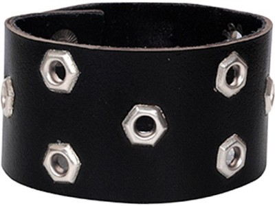 Kenway Retail Leather Silver Bracelet