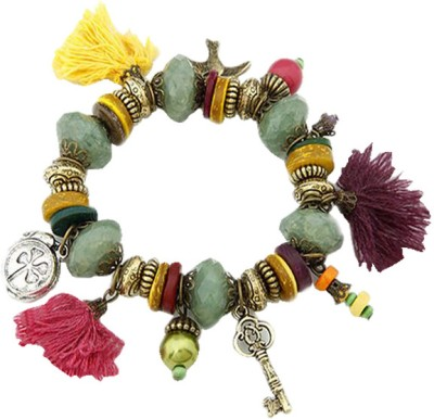 Young & Forever Alloy Charm Bracelet