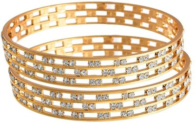 Jewels Galaxy Alloy Bangle(Pack of 2) at flipkart