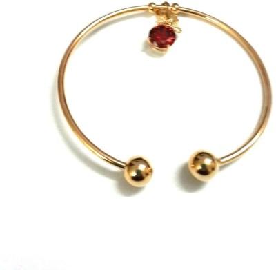 6LOTUS Brass Yellow Gold Bracelet Set