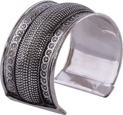 Silvery Metal Cuff