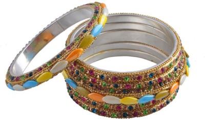 Ridhi Sidhi Collection Brass Bangle Set
