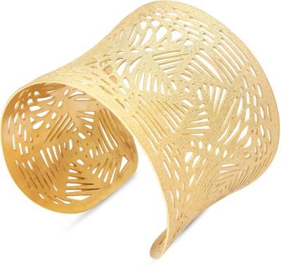 Tvesha Alloy Yellow Gold Cuff