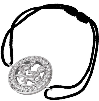 Jewelslane Silver, Fabric Bracelet