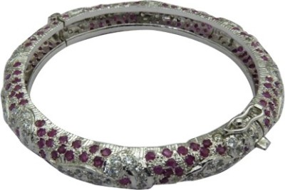 Miska Silver Silver Ruby Silver Bracelet
