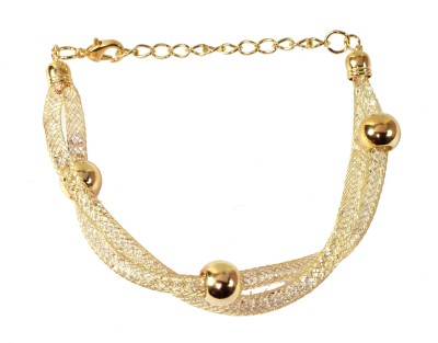 Trinetra Copper Yellow Gold Bracelet